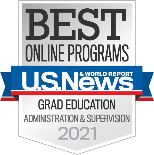 2021 Best Online Programs - Grad Education - Administration and Supervision