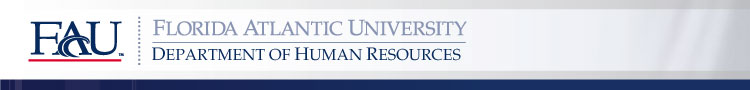 FAU Department of Human Resources