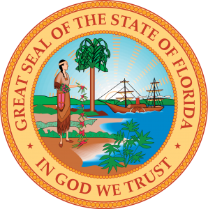 Great Seal of the State of Florida logo